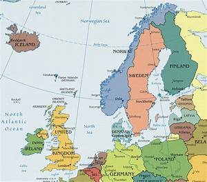 Map Of Northern Europe - roundtripticket.me