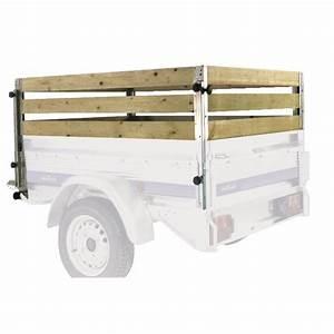Fabriquer Une Remorque : 4 rehausses en bois pour remorque norauto premium 256 ~ Maxctalentgroup.com Avis de Voitures