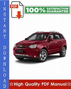 Chevrolet Captiva Sport Workshop Service Repair Manual