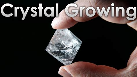 Grow Transparent Single Crystals Of Alum Salt At Home