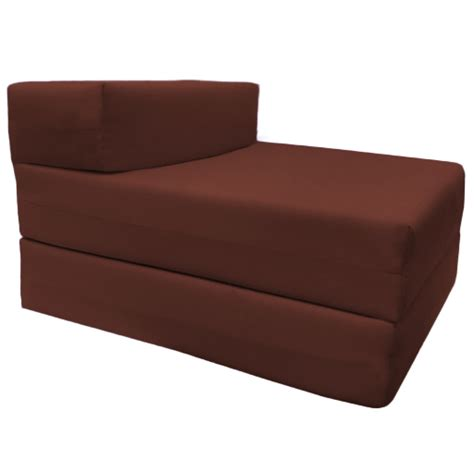 Folding Foam Chair Bed Ebay by Single Fold Out Block Foam Z Bed Sofabed Guest Chair Bed