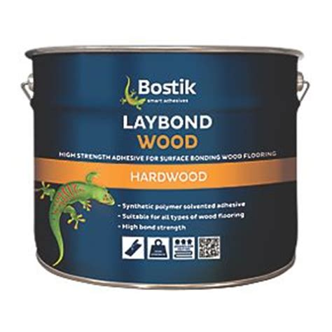 bostik wood floor glue bostik laybond wood floor adhesive 7kg floor adhesives screwfix com