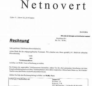 Rechnung Zahlungsfrist : watchlist internet netnovert versendet rechnung f r erwachsenenunterhaltung ~ Themetempest.com Abrechnung