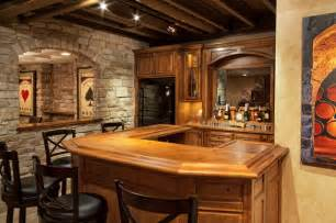 Drop Ceilings In Basements Pictures by The Ultimate Bachelor Pad Rustic Home Bar Chicago