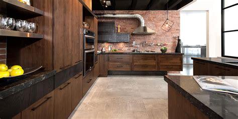 cuisine en noyer loft cuisine bois noyer frêne quartz