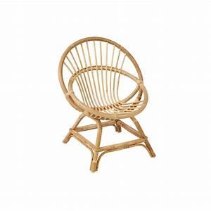 Fauteuil Rotin Enfant : fauteuil en rotin naturel coquille enfant ~ Teatrodelosmanantiales.com Idées de Décoration