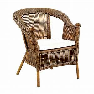 Coussin Fauteuil Rotin : fauteuil rotin antique avec coussin 4529 ~ Preciouscoupons.com Idées de Décoration