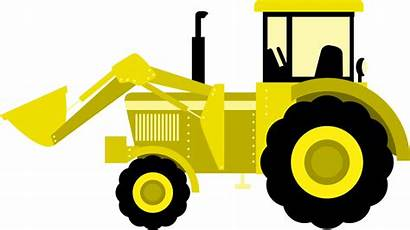 Tractor Clipart Svg Equipment Construction Bulldozer Machinery