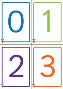 printable number card 1 10