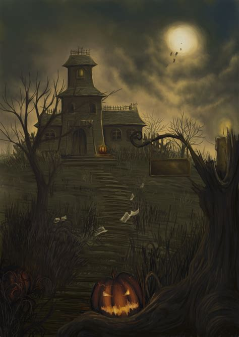 haunted house artwork pictures   images