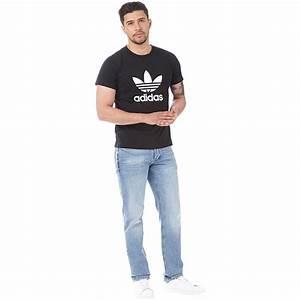 Tee Shirt Adidas Original Homme : adidas originals tee shirt trefoil homme noir ~ Melissatoandfro.com Idées de Décoration