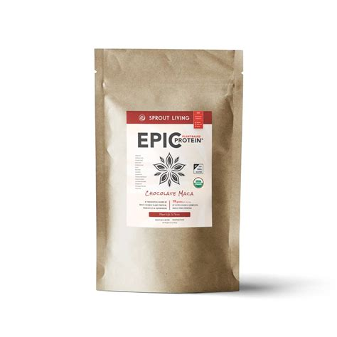 Amazon.com: Sprout Living Epic Protein Powder, Vanilla