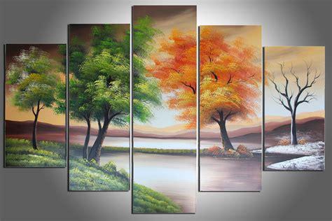 Chinese Four Seasons Wall Art