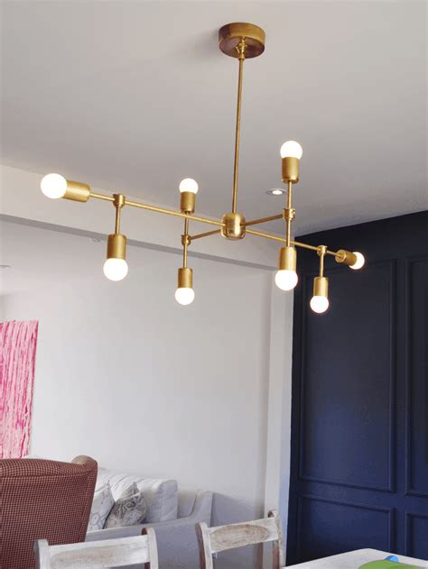 Light Fixture by Diy Modern Light Fixtures Mountainmodernlife