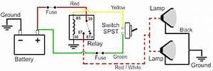 Wiring Diagram For Illuminated Rocker Switch
