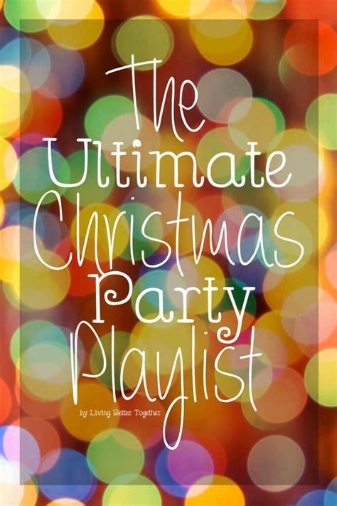 ultimate christmas playlist the ultimate playlist sugar soul