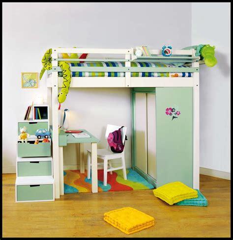 lit bureau adulte amazing lit mezzanine enfant avec bureau et rangements