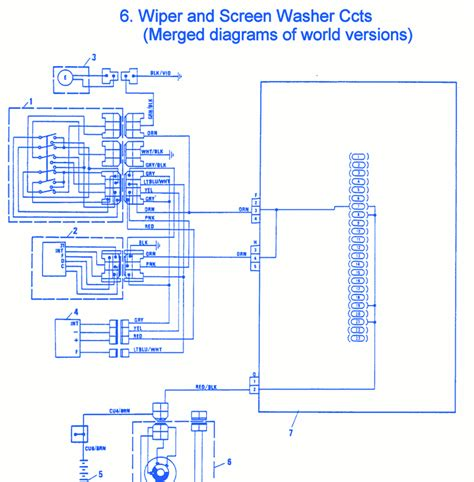 Electrical Circuit Wiring Diagram by Fiat Uno 1990 Wiper Electrical Circuit Wiring Diagram