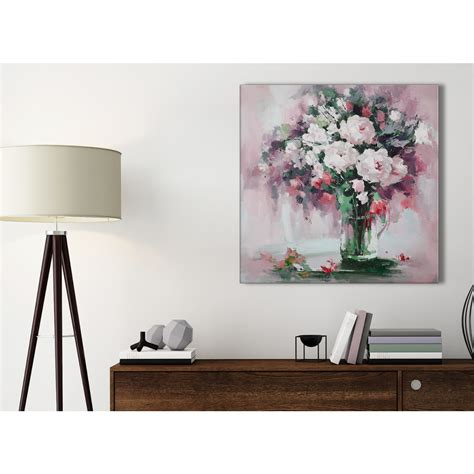 Bathroom Wall Flowers by Blush Pink Flowers Painting Bathroom Canvas Pictures