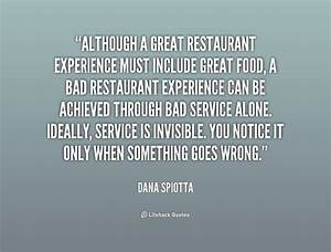 Quotes About Re... Restaurant Dining Quotes