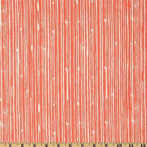 Coral Upholstery Fabric by Premier Prints Scribble Stripe Coral From Fabricdotcom