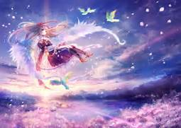 Msyugioh123 Images Anime Angel Girl HD Wallpaper And Background Photos Light