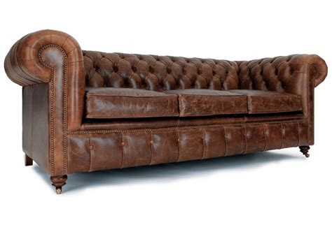 vintage chesterfield leather sofa vintage leather chesterfield sofa home furniture design