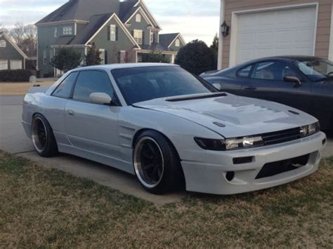 nissan 240sx widebody nissan silvia s13 widebody ls1 6spd classic nissan 240sx