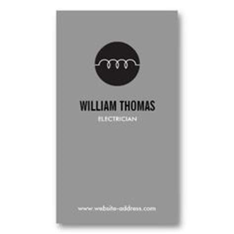 business cards  electricians electrical