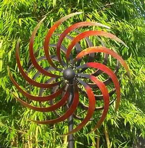 Windspiel Garten Metall : windspiel gartenstecker windrad gartenzauber garten metall ~ Lizthompson.info Haus und Dekorationen