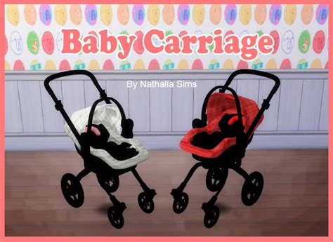 Baby Comfort And Carriage At Nathalia Sims » Sims 4 Updates