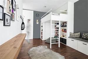 Jugendzimmer Mit Hochbett Gestalten : jugendzimmer hochbett ~ Bigdaddyawards.com Haus und Dekorationen