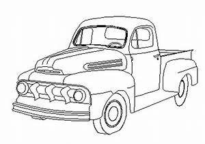 a drawing of a 49 f1 ford truck enthusiasts forums With 1949 ford panel van