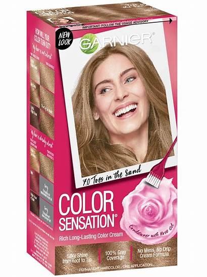 Blonde Natural Dark Garnier Sensation Hair Brands