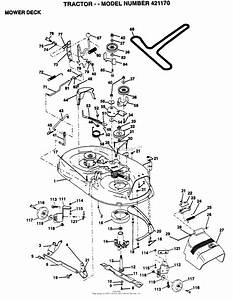 Ayp  Electrolux 421170  1995  Parts Diagram For Mower Deck