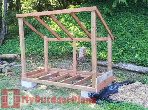 wood shed plans myoutdoorplans  woodworking plans