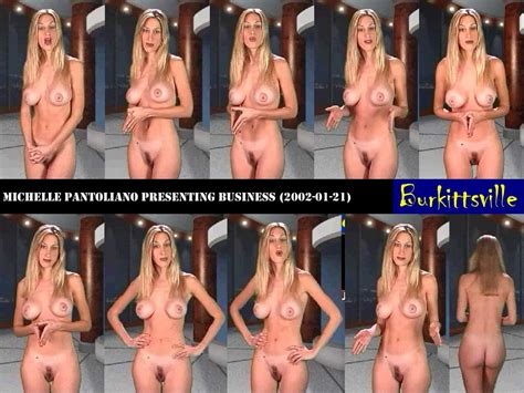 Naked Michelle Pantoliano In Naked News