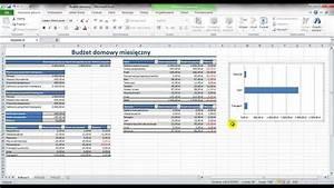 Excel 2010 - Bud U017cet Domowy - Fragment - Wykres