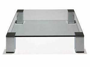 Grande Table Basse Carrée : grande table basse carr e grande table basse design trendsetter ~ Teatrodelosmanantiales.com Idées de Décoration