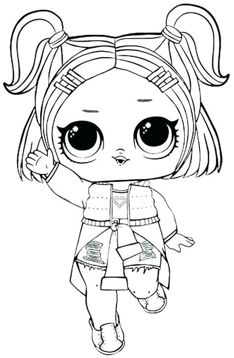 Coloring Lol Dolls by Lol Dolls Coloring Pages Best Coloring Pages For