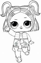 Lol Coloring Dolls sketch template