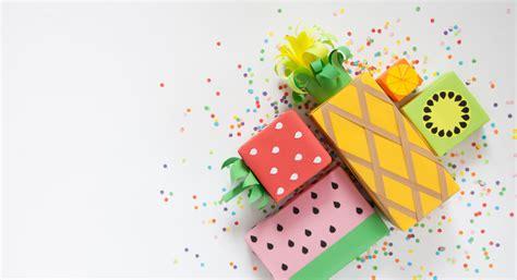 10 Ideen für originelle Geschenkverpackungen