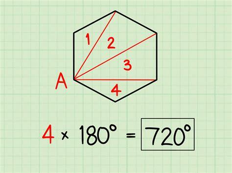 calculate  sum  interior angles  steps