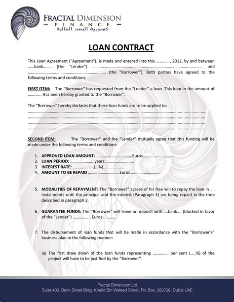 loan contract sample teknoswitch