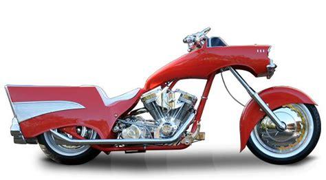 orange county choppers occ schussler bike  chevy