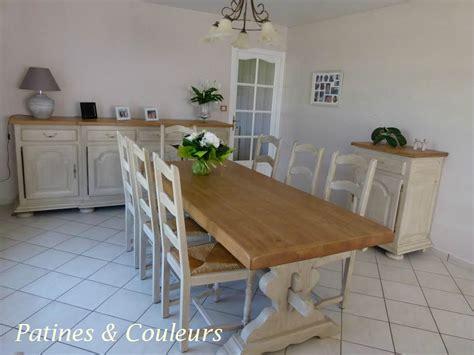 meuble cuisine repeint une salle à manger rénovée patines couleurs