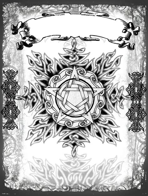 OMFG this would be an amazing addition to my backpiece tattoo... althought the pentacle would