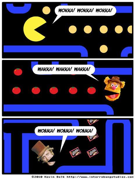 Pac Man Meme - wokka wakka wonka pac man know your meme
