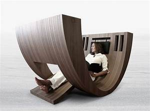 Stylish Wooden Chair that Used As Reading Space – The