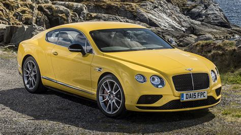 Bentley Continental Gt V8 S (2015) Wallpapers And Hd